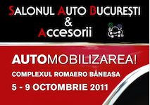 Noutati: Salonul Auto Bucuresti & Accesorii 2011 (SAB&A 2011