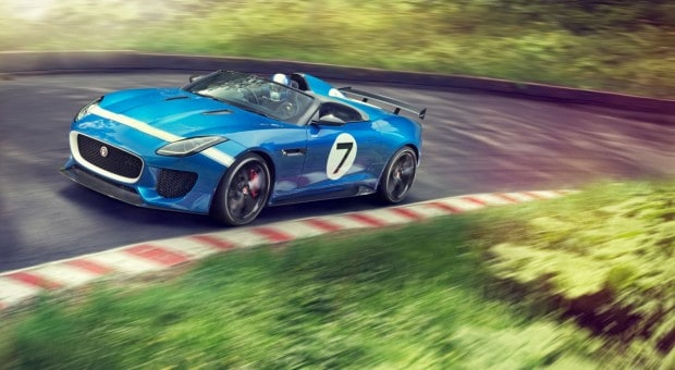 Jaguar confirma constructia modelului Jaguar F-Type Project 7