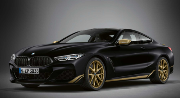 BMW Seria 8 in editia Golden Thunder