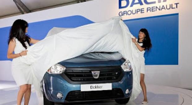 Primul videoclip oficial cu noua Dacia Dokker