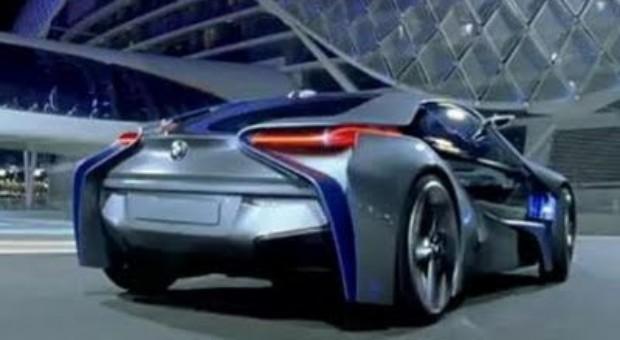 Noul BMW i8 prezentat printr-un spot publicitar