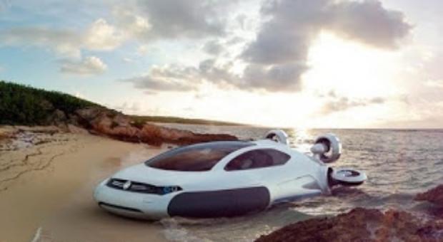Volkswagen Aqua – Masina care merge pe apa