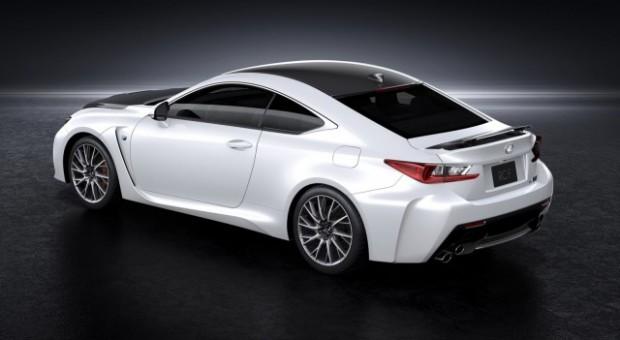 Noul model sport, 2014 Lexus RC F se prezinta …