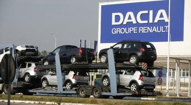 Vânzările DACIA în Germania şi Franţa au crescut în primele şapte luni