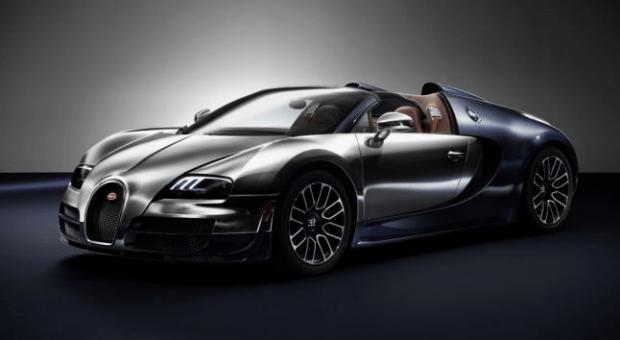 "Veyron Ettore Bugatti – cel mai valoros Veyron din colecţia ""Bugatti Legends"""