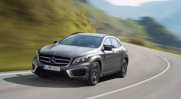 Mercedes GLA, primul SUV compact de la Mercedes-Benz, de la 24,625 fara TVA