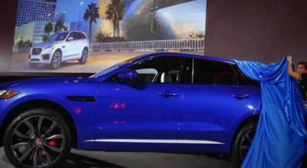 Jaguar a lansat prima sa maşină de teren F-Pace