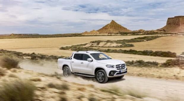 Primul pickup lansat de Mercedes: Clasa X