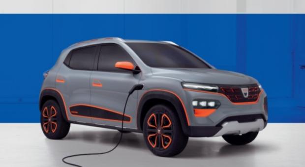 Noua Dacia Spring, primul model electric