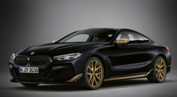 BMW Seria 8 in editia Golden Thunder