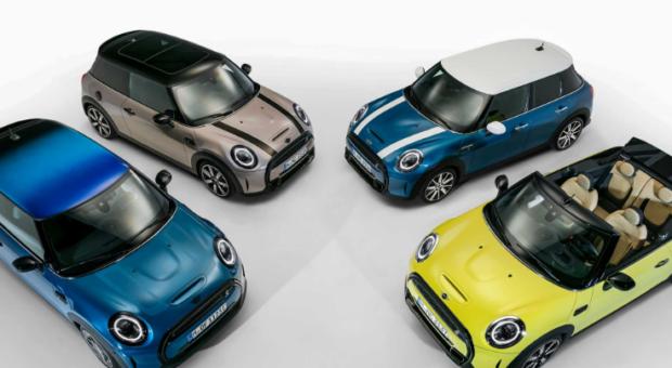 MINI Hatch 3 uși, MINI Hatch 5 uși și MINI Cabriolet